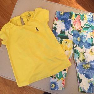 Ralph Lauren leggings and top